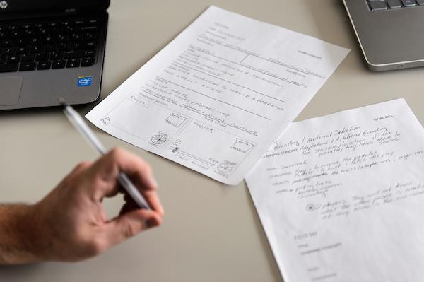 Workshop participants' notes