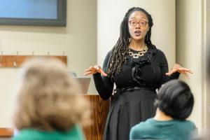 Torsheika Maddox talks about networking