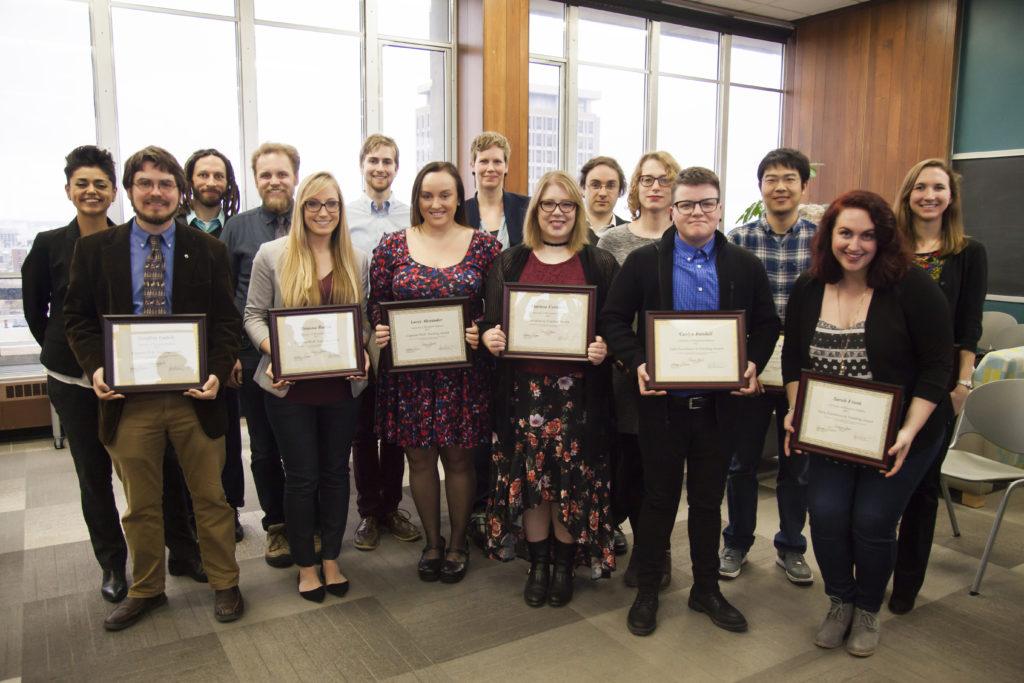 TA Award winners
