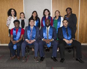 Graduating McNair Scholars and McNair Program staff