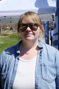 Graduate student Hannah Silber