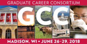 The Graduate Career Consortium's 2018 conference logo
