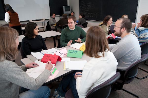 Delta Program participants in class