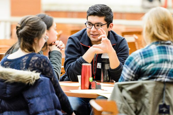 Students participate in diversity and inclusion training