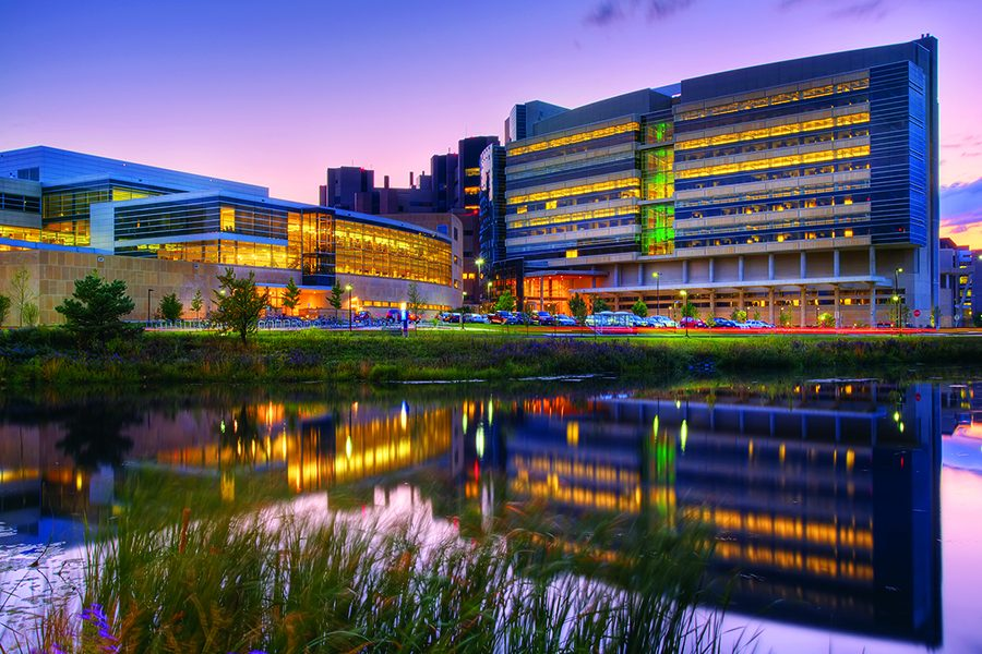 Wisconsin Institutes for Medical Research building