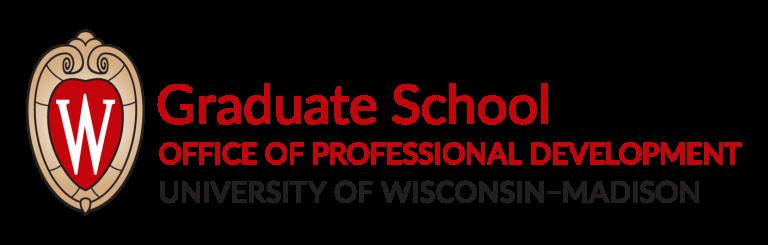 UW Graduate School Office of Professional Development Logo