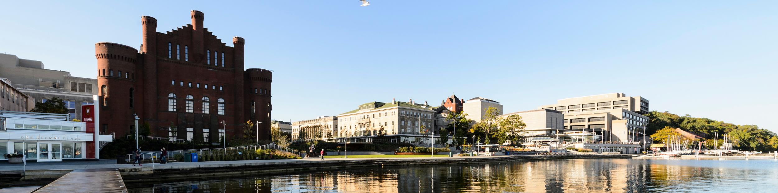 Campus and lake